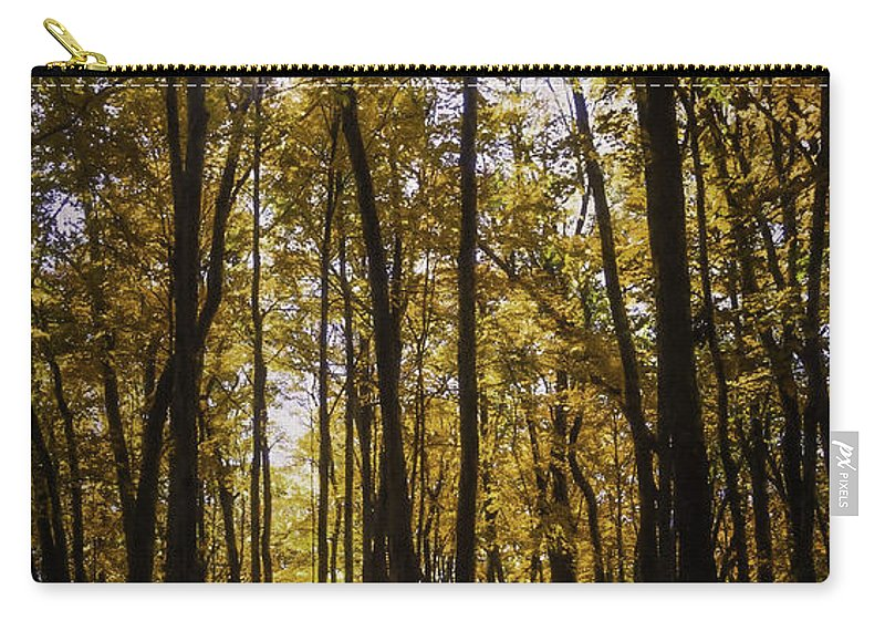 Autumn Carry-all Pouch featuring the photograph Autumns Fire by Scott Norris