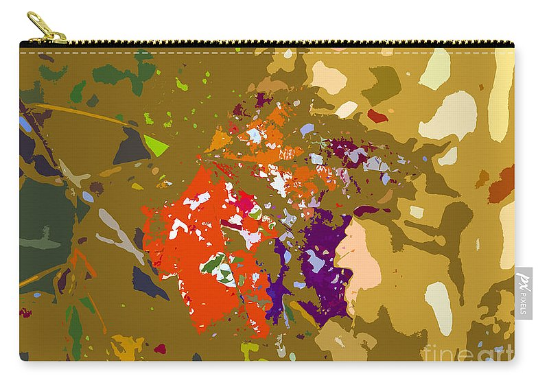 Autumn Carry-all Pouch featuring the photograph Autumns Leaf by David Lee Thompson