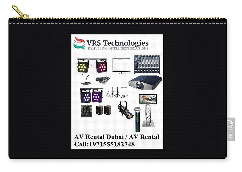 Av Rental Carry-all Pouch featuring the photograph Av Rental - Av For Rent In Dubai by Rajendra