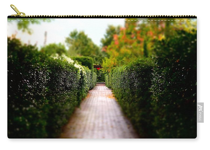 Carry-all Pouch featuring the photograph Avenue Of Dreams 2 by Rodney Lee Williams
