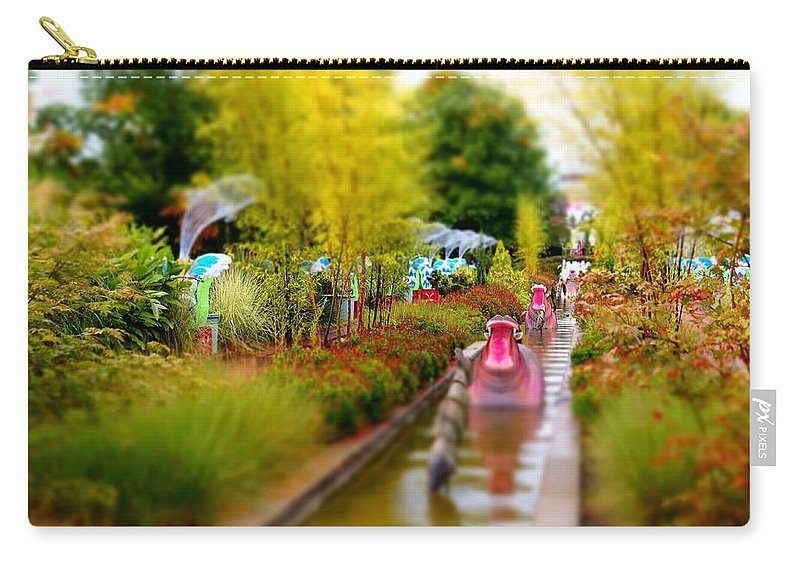 Carry-all Pouch featuring the photograph Avenue Of Dreams 4 by Rodney Lee Williams