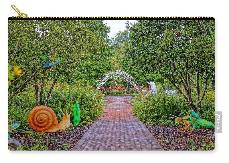 Carry-all Pouch featuring the photograph Avenue Of Dreams 6 by Rodney Lee Williams