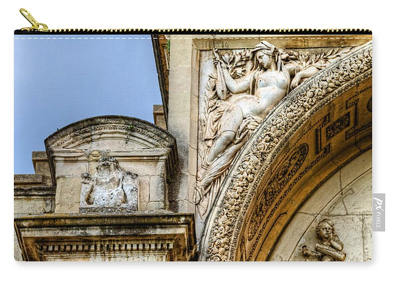 Avignon Carry-all Pouch featuring the photograph Avignon Opera House Muse 1 by Weston Westmoreland