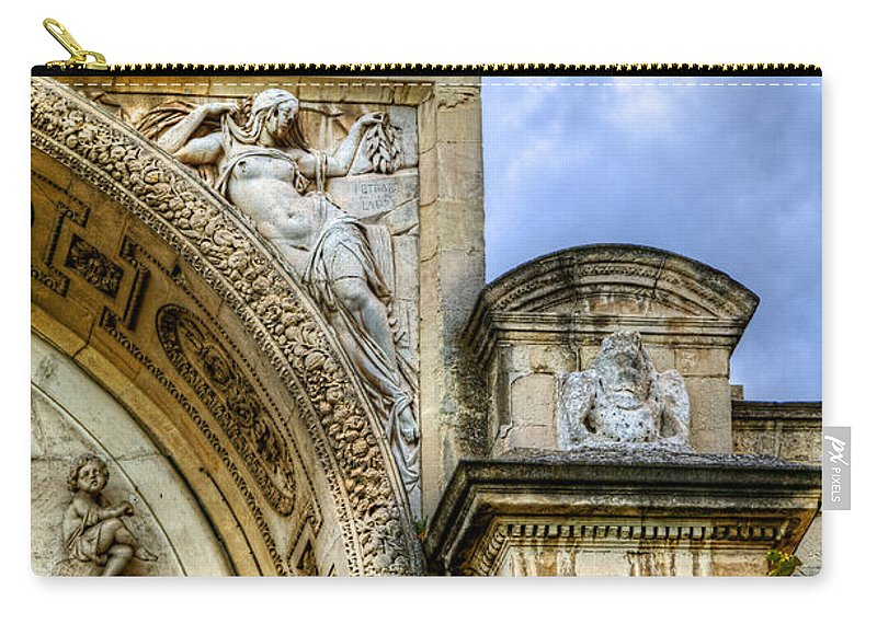 Avignon Carry-all Pouch featuring the photograph Avignon Opera House Muse 2 by Weston Westmoreland
