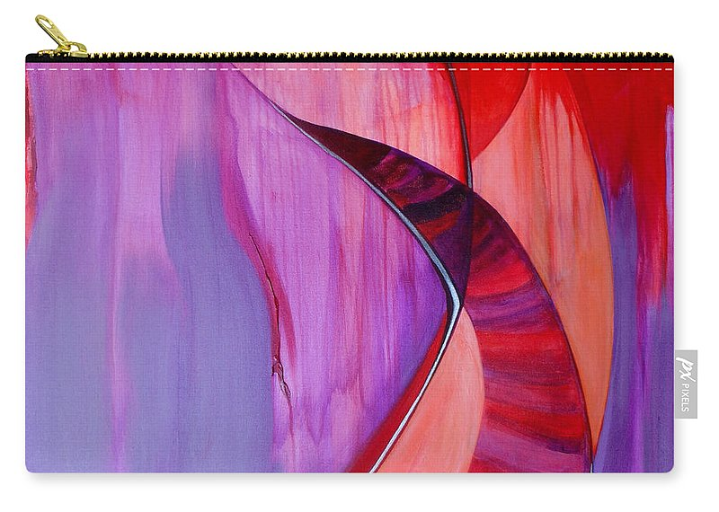 Rosh Hashanah Greeting Cards Carry-all Pouch featuring the painting Avinu Malkeinu by Marlene Burns