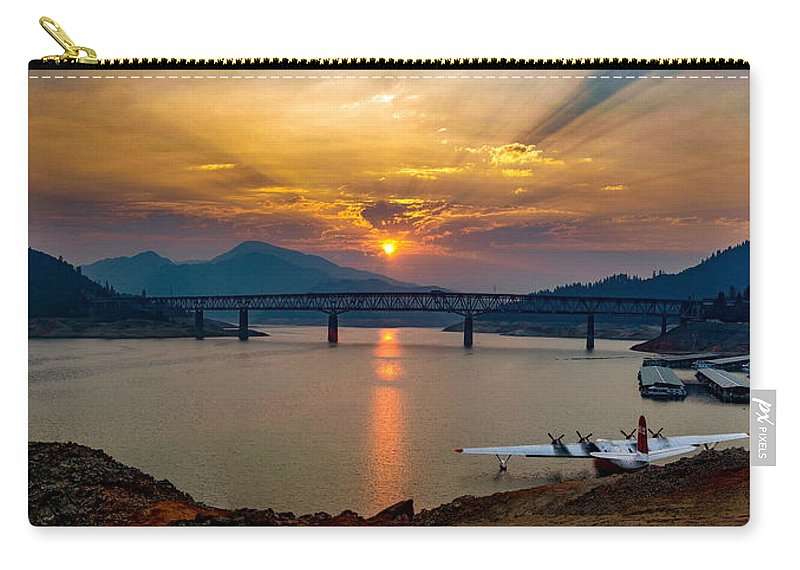 Michele James Photography Carry-all Pouch featuring the photograph Awakening by Michele James