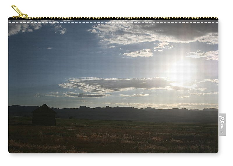 Lonely Carry-all Pouch featuring the photograph Away by Ashlyn Yates