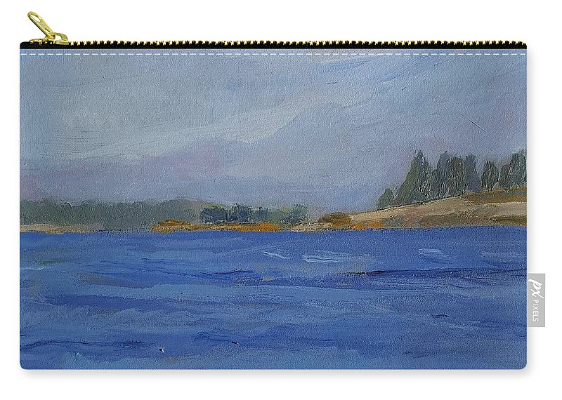 Maine Carry-all Pouch featuring the painting Away by Colleen Kidder