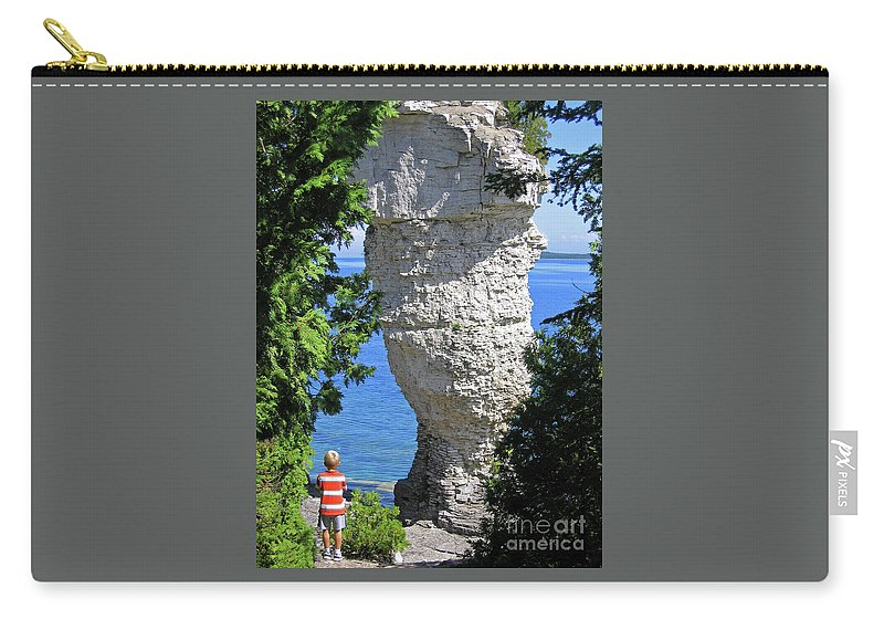 Stone Carry-all Pouch featuring the photograph Awesome All Around by Ann Horn