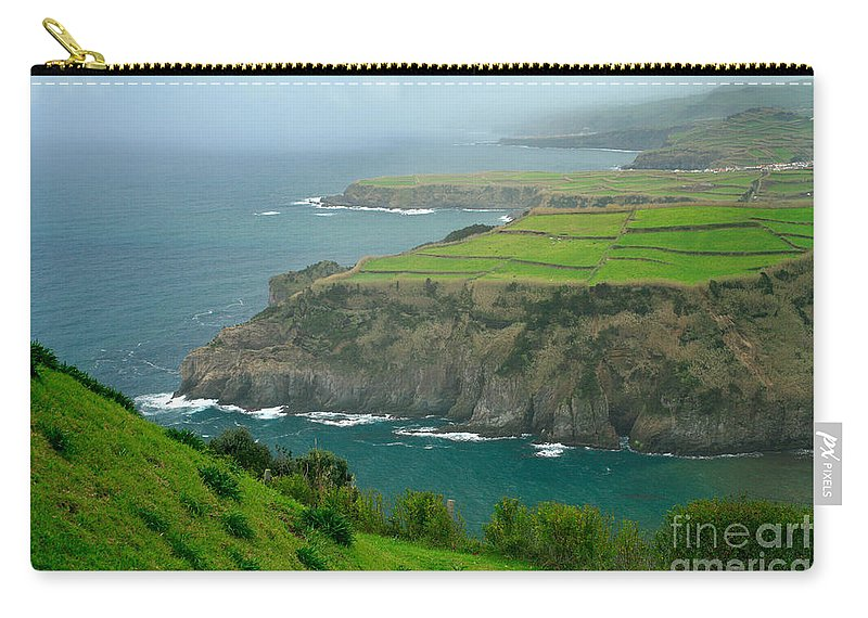 Azores Carry-all Pouch featuring the photograph Azores Coastal Landscape by Gaspar Avila