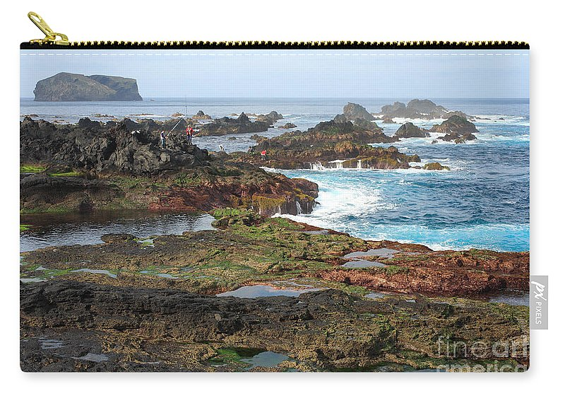 Atlantic Carry-all Pouch featuring the photograph Azores Seascape by Gaspar Avila