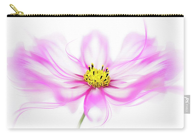 Cosmos Carry-all Pouch featuring the photograph B R E E Z E by Jacky Parker
