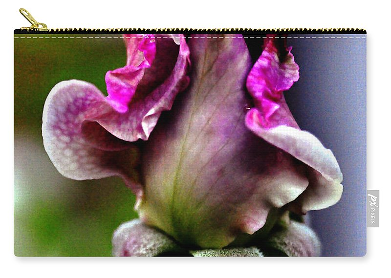 Clay Carry-all Pouch featuring the photograph Baby Bud by Clayton Bruster