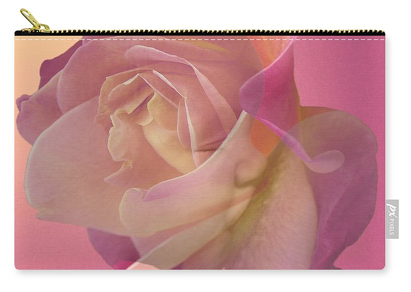 Fleurogeny Art Carry-all Pouch featuring the digital art Baby Girl by Torie Tiffany