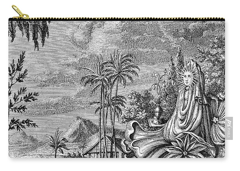 Ancient Carry-all Pouch featuring the photograph Babylon: Sun Worship by Granger