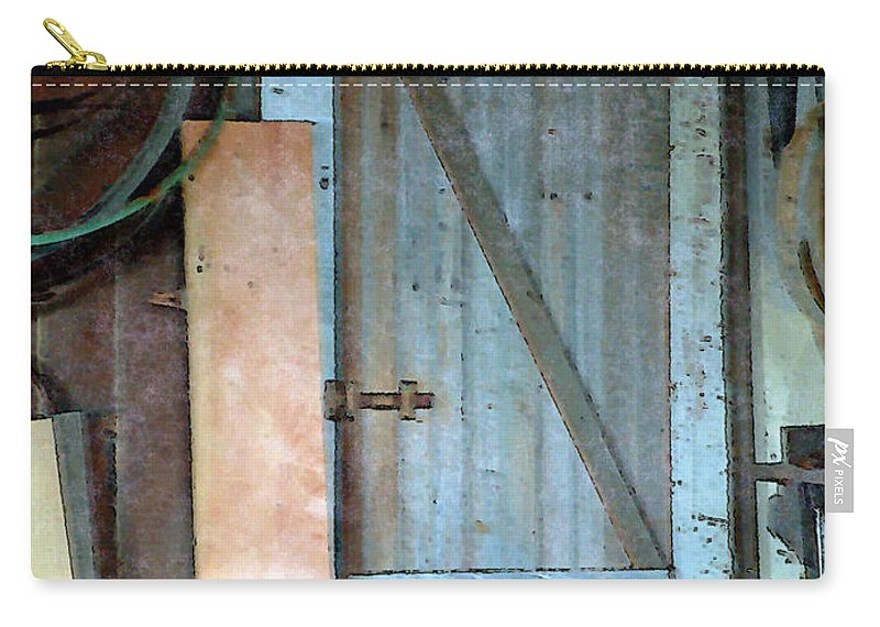 Tools Carry-all Pouch featuring the painting Back Corner Closet by RC deWinter