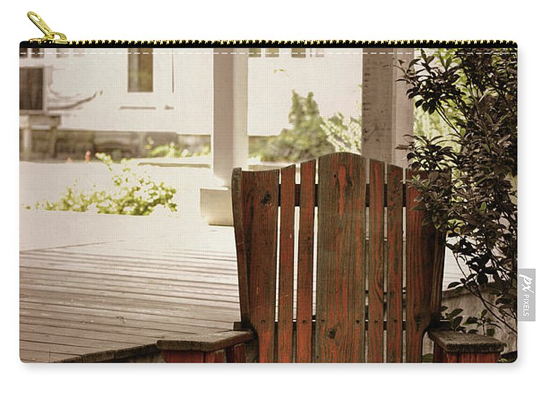 Outerbanks Carry-all Pouch featuring the photograph Back In Porch Time by JAMART Photography
