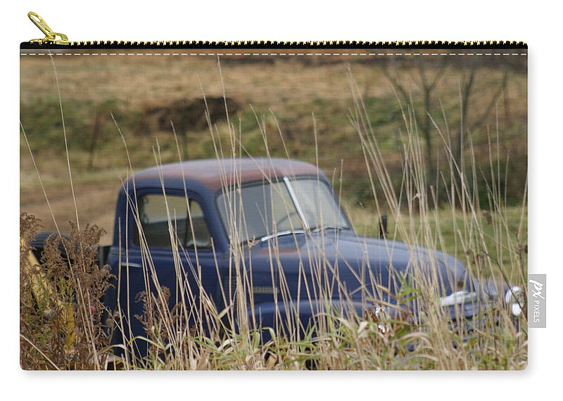 Backyards Carry-all Pouch featuring the photograph Backyard Blues by Bjorn Sjogren