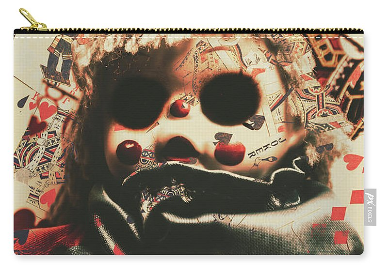 Bad Carry-all Pouch featuring the photograph Bad Magic by Jorgo Photography - Wall Art Gallery