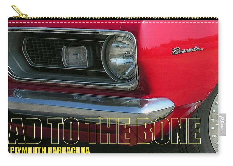 Barracuda Carry-all Pouch featuring the photograph Bad To The Bone by Richard Rizzo