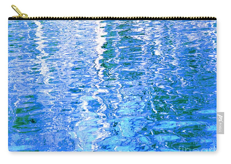Water Carry-all Pouch featuring the photograph Baffling Blue Water by Sybil Staples