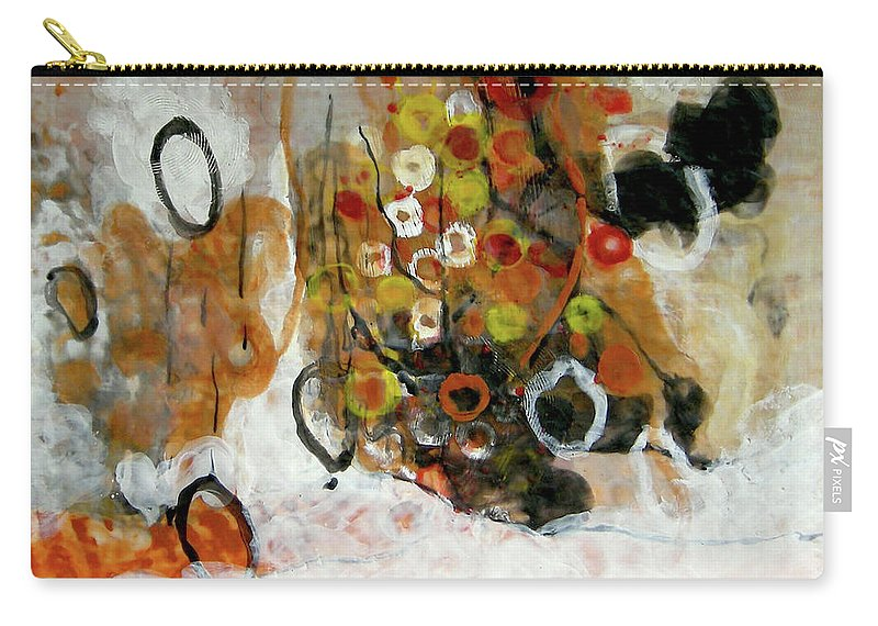 Balance Carry-all Pouch featuring the painting Balancing Freedom-1 by Antoaneta Melnikova- Hillman