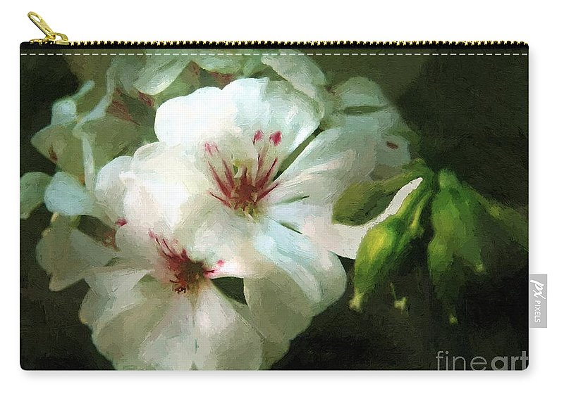 Classical Carry-all Pouch featuring the painting Balcony Beauty by RC DeWinter