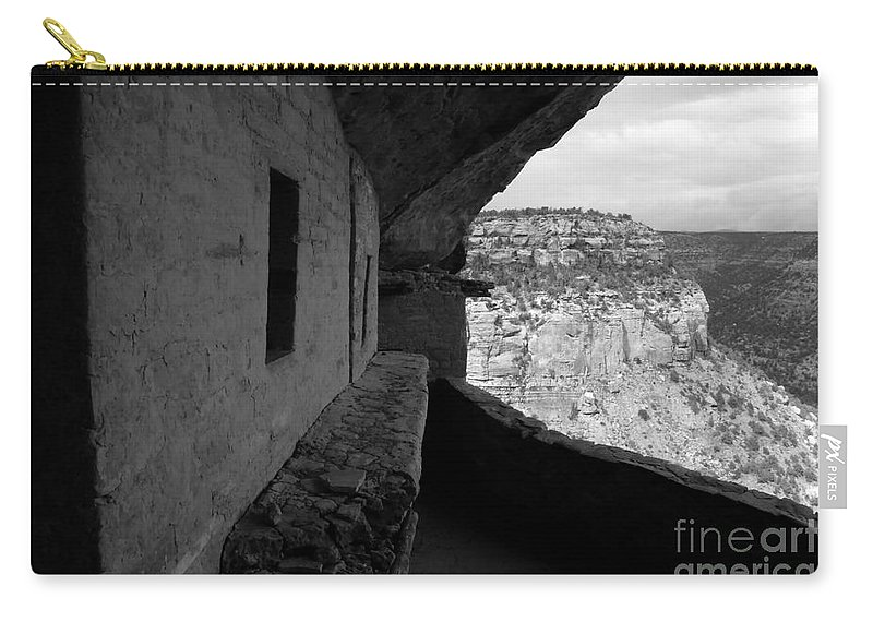 Balcony House Carry-all Pouch featuring the photograph Balcony House by David Lee Thompson