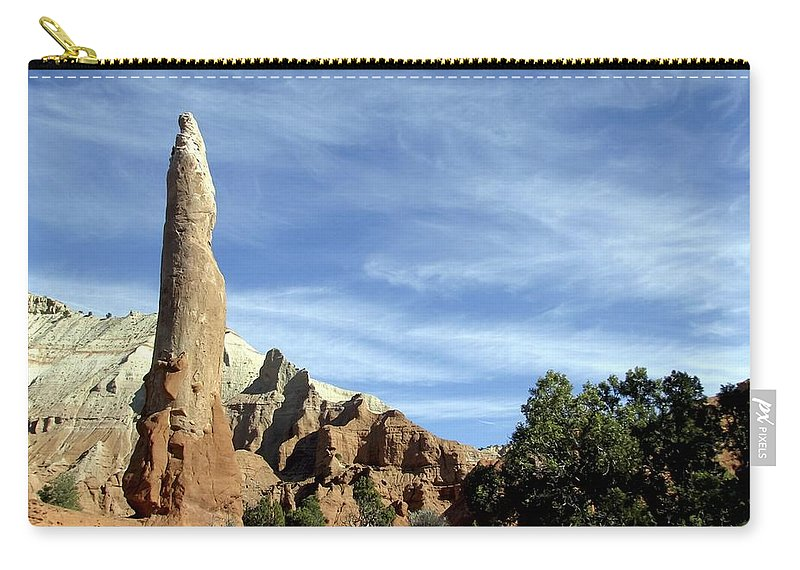 Ballerina Spire Carry-all Pouch featuring the photograph Ballerina Spire by NaturesPix