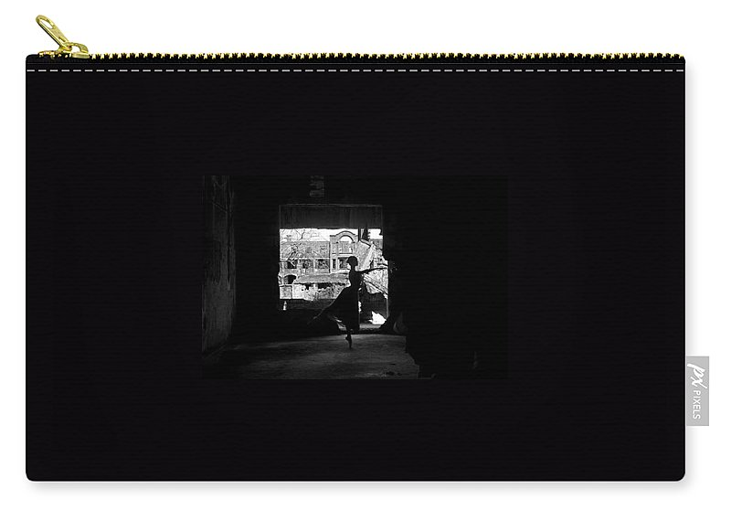 Ballet Dancer Carry-all Pouch featuring the photograph Ballet Dancer10 by George Cabig