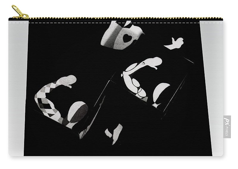 Dance Carry-all Pouch featuring the photograph Ballet Silouette by Charles Stuart