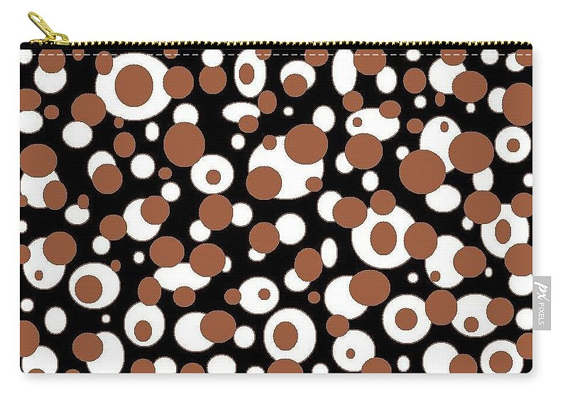 Carry-all Pouch featuring the digital art Balls by Jordana Sands