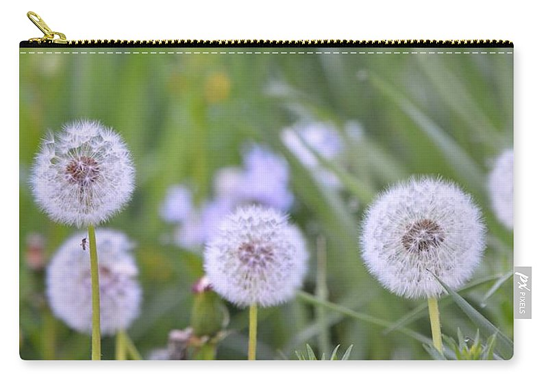 Seed Carry-all Pouch featuring the photograph Balls Of Seed by Bonfire Photography