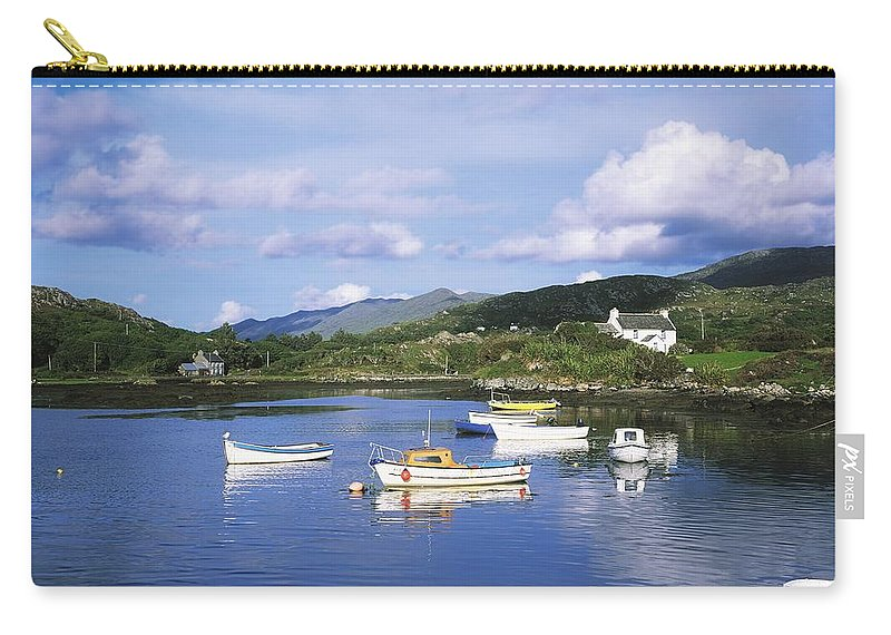 Oat Carry-all Pouch featuring the photograph Ballycrovane Harbour, Beara Peninsula by The Irish Image Collection