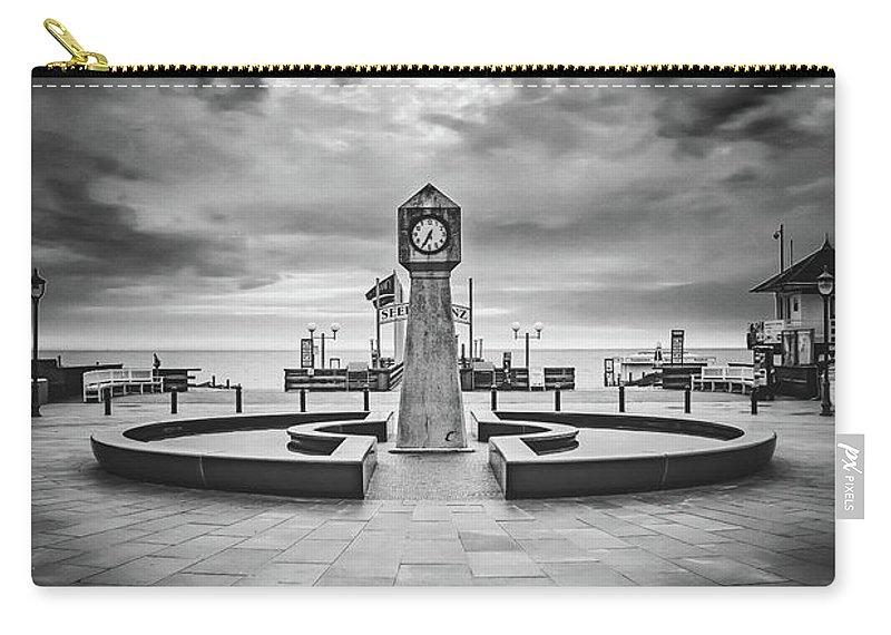 Baltic Sea Carry-all Pouch featuring the photograph Baltic Sea Ruegen - Seaside Resort Binz by ARTSHOT - Photographic Art