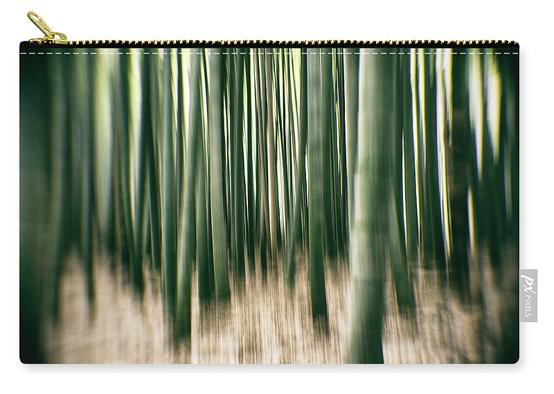 Alex Szopa Carry-all Pouch featuring the photograph Bamboo Forest by Alex Szopa