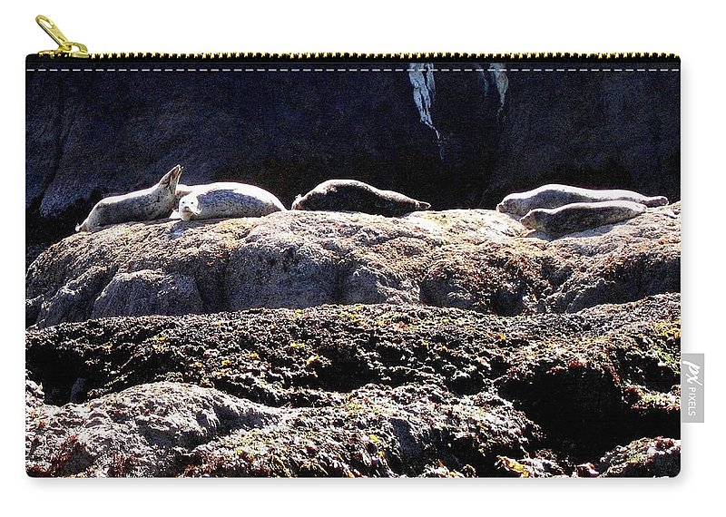 Bandon Carry-all Pouch featuring the photograph Bandon 11 by Will Borden
