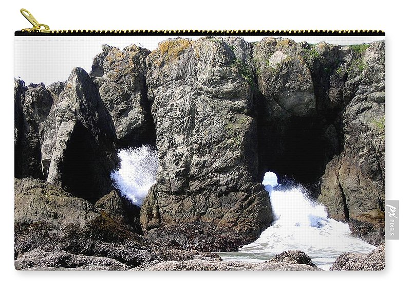 Bandon Carry-all Pouch featuring the photograph Bandon 17 by Will Borden
