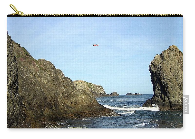 #bandon28 Carry-all Pouch featuring the photograph Bandon 28 by Will Borden