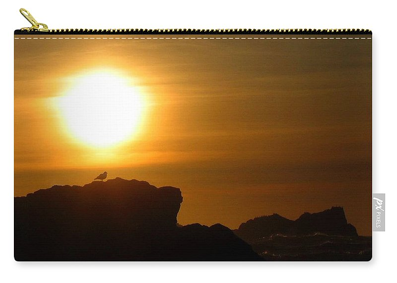Bandon Carry-all Pouch featuring the photograph Bandon 30 by Will Borden