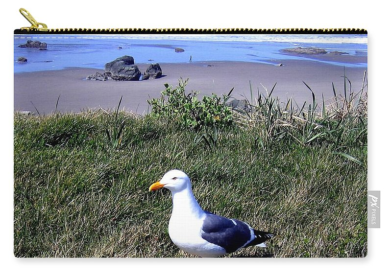 Bandon Carry-all Pouch featuring the photograph Bandon 37 by Will Borden