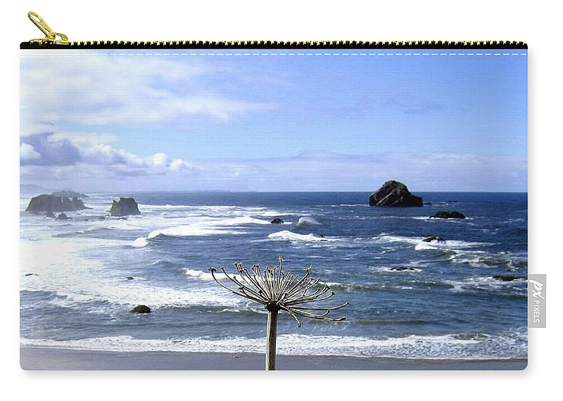 Seascape Carry-all Pouch featuring the photograph Bandon 63 by Will Borden