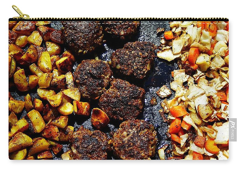 Barbecue Carry-all Pouch featuring the photograph Barbecue ... by Juergen Weiss