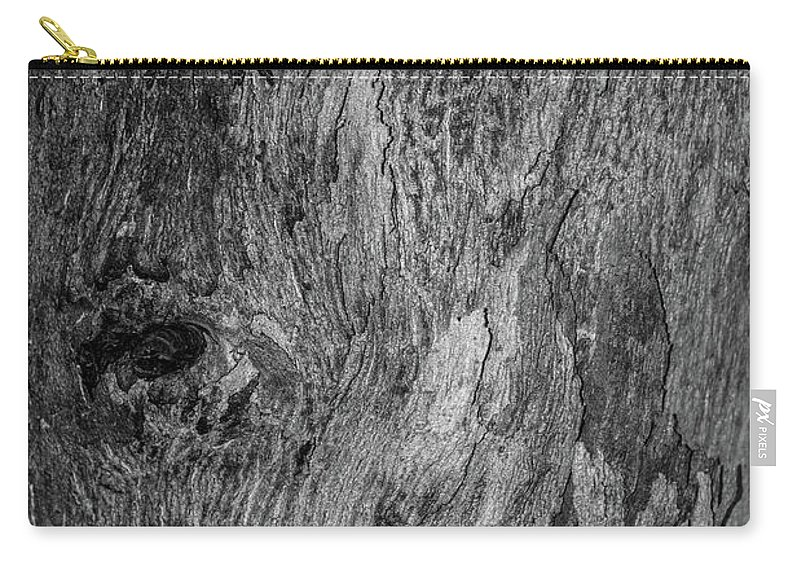 Bark Carry-all Pouch featuring the photograph Bark At The Moon by Evil Shadows