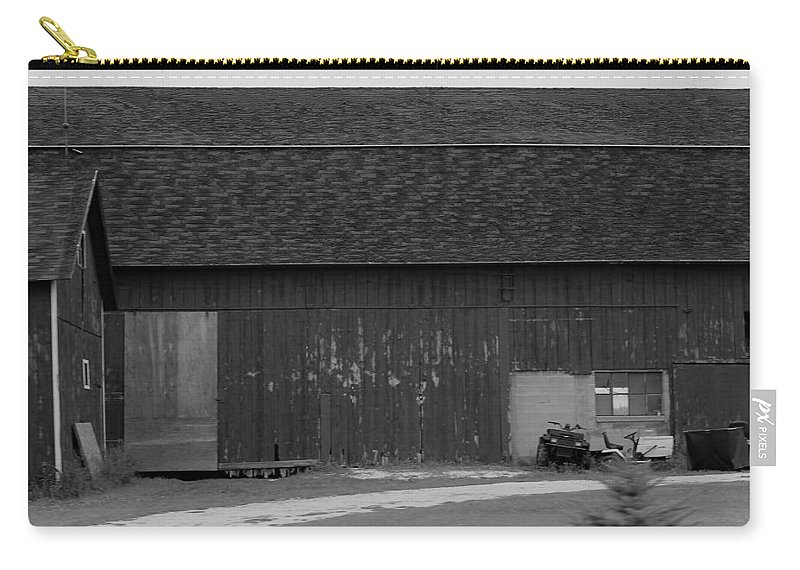 Carry-all Pouch featuring the photograph Barn 10 by John Bichler
