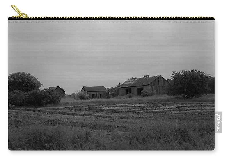 Carry-all Pouch featuring the photograph Barn 14 by John Bichler