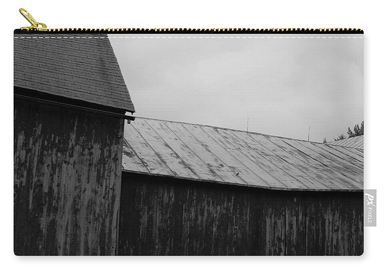 Carry-all Pouch featuring the photograph Barn 20 by John Bichler