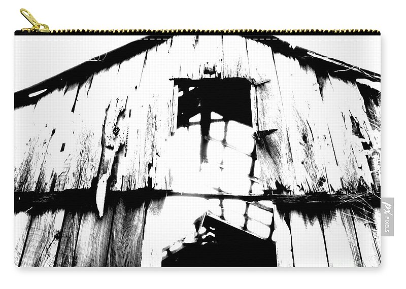 Barn Carry-all Pouch featuring the photograph Barn by Amanda Barcon