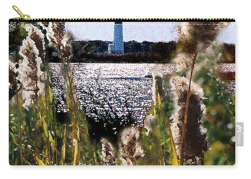 Barnegat Carry-all Pouch featuring the digital art Barnegat Bay by Steve Karol