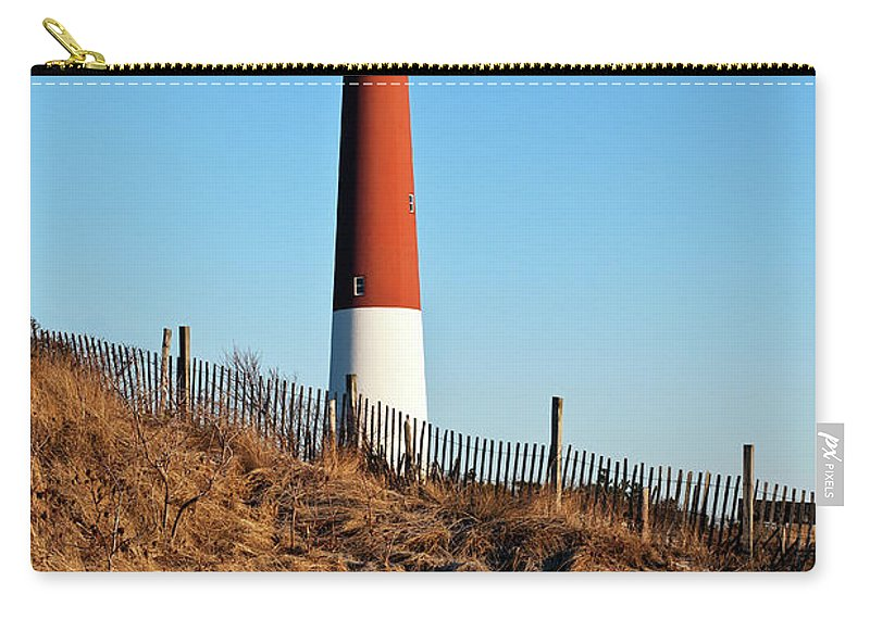 Picturesque Carry-all Pouch featuring the photograph Barnegat Lighthouse Nj by John Greim